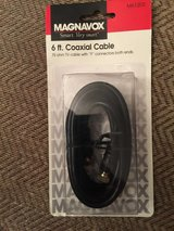 Magnavox 6 foot coaxial cable in Oswego, Illinois