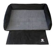 Alcott Traveler Trunk PET Bed, One Size,  Black and Grey (new) in Fairfield, California