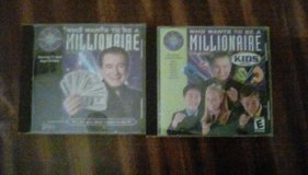 Who Wants to be a Millionare & Who Wants to be a Millionaire Kids CD-ROM in Perry, Georgia