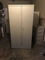 Metal storage cabinet in Vacaville, California