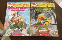 2 Geronimo Stilton Books in Naperville, Illinois