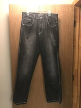 Black southpole jeans in Fort Riley, Kansas