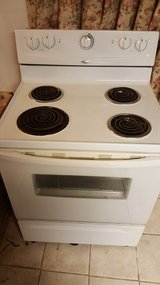 Used White Frigidaire Stove in Perry, Georgia