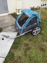 In-Step two person bike trailer. in Okinawa, Japan