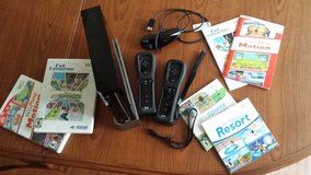 Nitendo Wii set with games in Okinawa, Japan