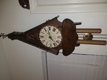 1960's New England Clock, Chalet 8 Wall Clock in Camp Pendleton, California