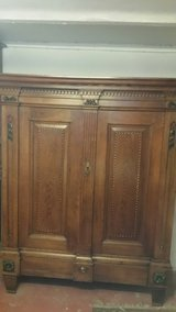Original Louis seize solid oak cabinet in Bamberg, Germany