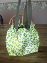 Thirty One Thermal Cinch Sac Lunch Tote (Leopard Floral) in Perry, Georgia