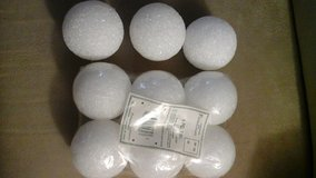 "(9) Styrofoam Craft/ Foral 3"" Balls in Bolingbrook, Illinois"