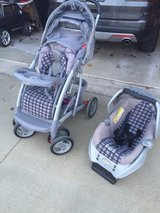 Baby stroller and car seat in Joliet, Illinois