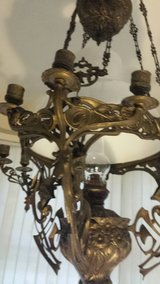 Large ceiling light style Art Nouveau. . in Bamberg, Germany