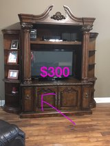 Solid Wood Entertainment Center in bookoo, US