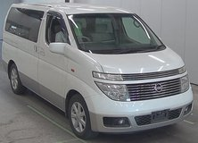 Nissan Elgrand 25 Months JCI 2 Years Inspection in Okinawa, Japan