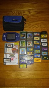 game boy advance+28 games+travel cases in Wilmington, North Carolina