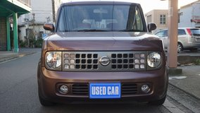 Nissan Cube Brown 25 months JCI in Okinawa, Japan
