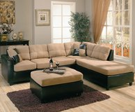sectional w ottoman in MacDill AFB, FL