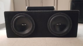 Realm Subwoofers and Amp in San Clemente, California