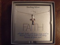 ***REDUCED***BRAND NEW***Silver Cross Necklace*** in Houston, Texas