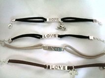 Bracelet's $5 each in Lackland AFB, Texas