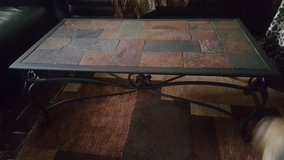 Coffee table and two end tables in Beaufort, South Carolina