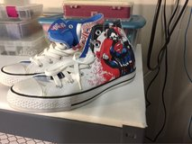 Super man converse in Travis AFB, California