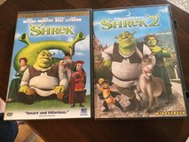 Shrek/Shrek 2 DVDs in Naperville, Illinois