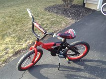 "Boys 16"" Lightning McQueen Cars bicycle bike in Aurora, Illinois"