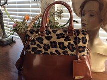 Italian Leather/calf hair Handbag in Baytown, Texas
