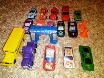 Toy Cars Lot in Vista, California