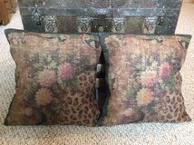 Burlap Pillow Covers (2) in Baytown, Texas
