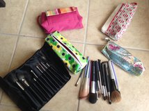 Makeup brushes and cases in Yucca Valley, California