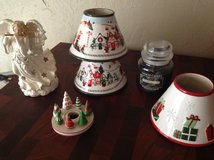 Yankee Candle plus Christmas decor in Yucca Valley, California