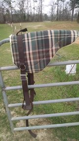 Cloth bareback saddle with stirrups in Perry, Georgia