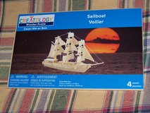 Creatology Wooden Puzzle Sailboat Voilier NEW! in Camp Lejeune, North Carolina