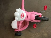 Pink Radio Flyer Lights and Sounds Racer (Big Wheel) in Bartlett, Illinois