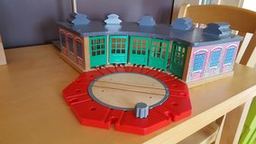 Thomas Tidmouth Sheds and turntable in Naperville, Illinois