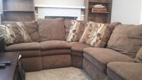 4pc Sofa w/ attached recliner & chaise in Fort Carson, Colorado