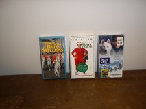 3 New Walt Disney VHS Movies in Fort Campbell, Kentucky