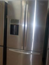 WHIRLPOOL FRENCH STYLE REFRIGERATOR in Lumberton, North Carolina