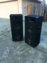 Naly PS215 pair w/2 15's in Vacaville, California
