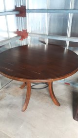 Very Nice Dining Table and Leather Chairs in Okinawa, Japan