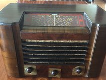 Antique radio GE Hotpoint Band Master in Okinawa, Japan