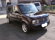 2004. Nissan Cube3. 7seater.  Low milage. Clean. New JCI included in Okinawa, Japan