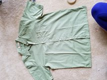 Fore front polo green color in Okinawa, Japan
