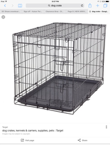 Dog crate like new L/XL in Travis AFB, California