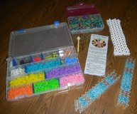 Rainbow Loom Lot 3 Looms Rubber Bands Several Hooks + Cases in Houston, Texas