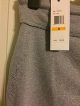 Calvin Klein grey sweatpants size S, NWT in Fort Campbell, Kentucky