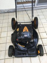Poulan PRO lawn mower in Okinawa, Japan