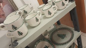 Christmas Dishes in Ramstein, Germany