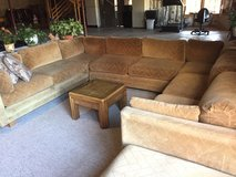 3pcs tan couches with extensions in Westmont, Illinois